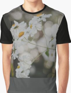 White daisies Graphic T-Shirt