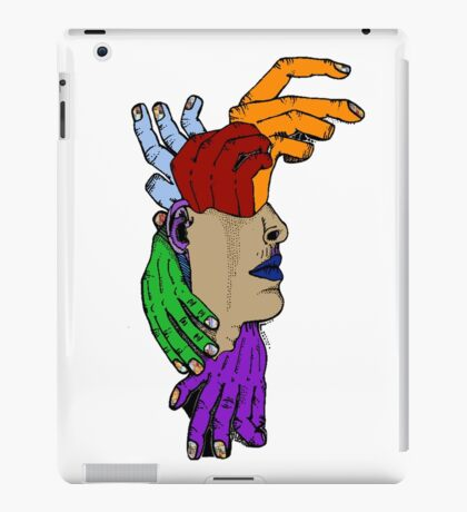 let's not get out of hand iPad Case/Skin