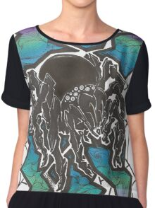 Venom Shock Women's Chiffon Top
