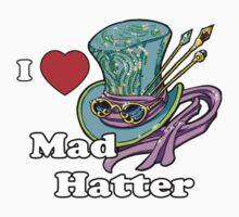 I Heart Mad Hatter One Piece - Long Sleeve