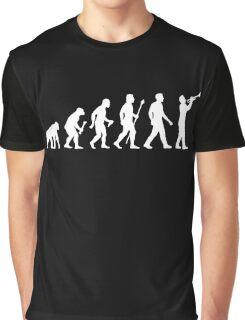 Trumpet Evolution Of Man Graphic T-Shirt