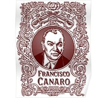 Francisco Canaro (in red) Poster