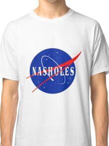 NASA NASHOLES Logo Classic T-Shirt