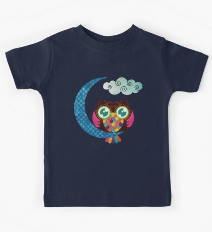 My Crescent Owl Kids Tee