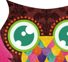 My Crescent Owl Sticker
