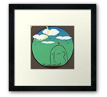 Chibi Mori Framed Print