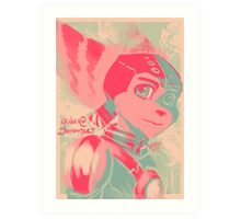 Ratchet and Clank Request Art Print