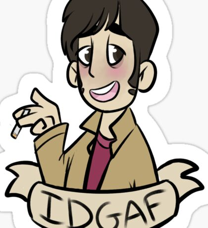 "Marble Hornets: Tim Wright ""IDGAF"" Sticker"