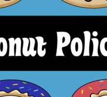 Donut Police Sticker