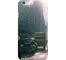 Corner of Collins and Elizabeth Streets iPhone Case/Skin