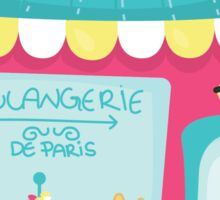 Paris themed Party Stickers Sticker