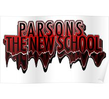 Parsons The New School Drippy  Poster