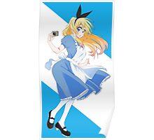 Nisekoi - Kirisaki Chitoge (Alice in Wonderland) Poster