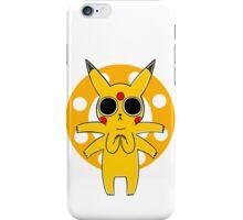 Pikachu's Trip - one circle iPhone Case/Skin