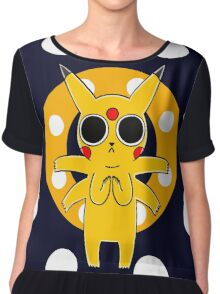Pikachu's Trip - one circle Chiffon Top