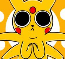 Pikachu's Trip - one circle Sticker