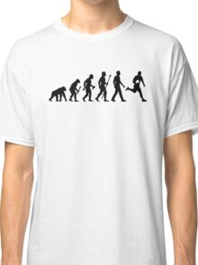Evolution of Rugby  Classic T-Shirt
