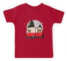 Little red camper Kids Tee