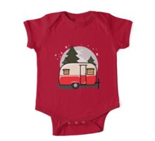 Little red camper One Piece - Short Sleeve