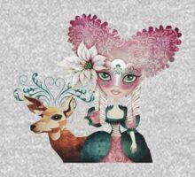 Noelle's Winter Magic One Piece - Short Sleeve