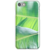 Tropical Leaf Goodness iPhone Case/Skin