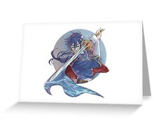 Seliph/Celice Fire Emblem 4 Genealogy of the Holy War Greeting Card