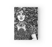 Divine Mother Gea Tree / BW Hardcover Journal