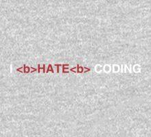 I Hate Coding One Piece - Long Sleeve