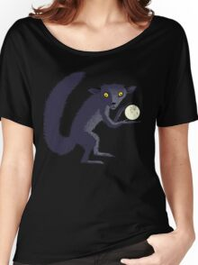 Aye Aye Steals the Moon Women's Relaxed Fit T-Shirt