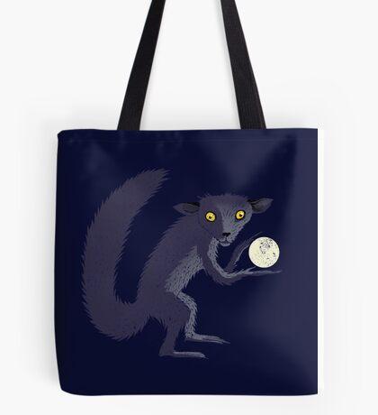 Aye Aye Steals the Moon Tote Bag