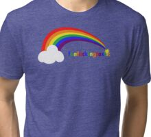 Fan F**king Tastic (Rainbow Series) Tri-blend T-Shirt