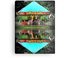 Carousel Reflections Metal Print