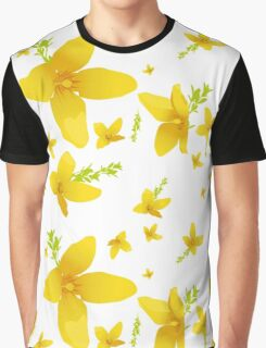 Forsythia blossoms Graphic T-Shirt