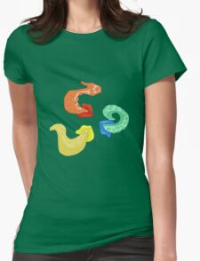 Octo lips Womens Fitted T-Shirt