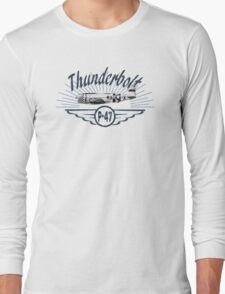 Thunderbolt P-47 Long Sleeve T-Shirt