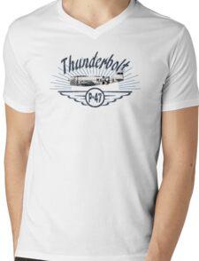 Thunderbolt P-47 Mens V-Neck T-Shirt