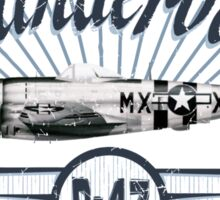 Thunderbolt P-47 Sticker