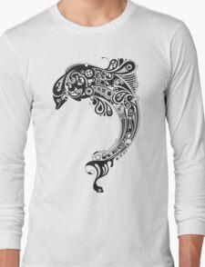 Tribal Fish Long Sleeve T-Shirt