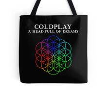Coldplay  A Head Full Of Dreams World Tour Concert Tote Bag