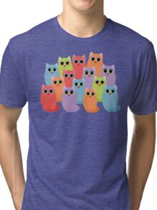 CAT FOURTEEN Tri-blend T-Shirt
