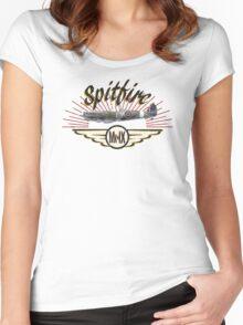 Spitfire Mk IX Women's Fitted Scoop T-Shirt