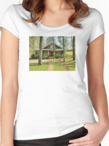 House That Disappeared Women's Fitted Scoop T-Shirt