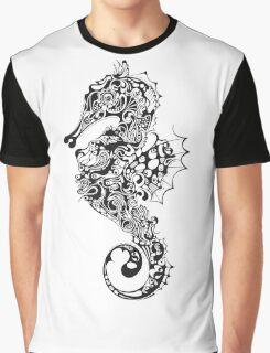 Sea Horse Graphic T-Shirt