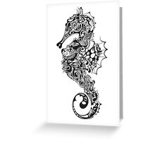 Sea Horse Greeting Card