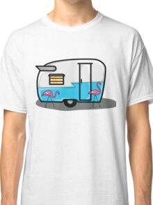 retro blue campers Classic T-Shirt
