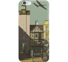 Fly TWA to Germany Vintage Travel Poster iPhone Case/Skin