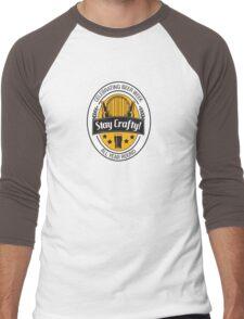 Stay Crafty Men's Baseball ¾ T-Shirt