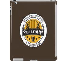 Stay Crafty iPad Case/Skin