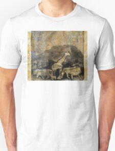 Giraffe and Tigers Unisex T-Shirt