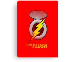 the Flush Canvas Print
